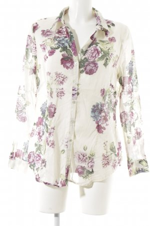 s.Oliver SELECTION Langarm-Bluse Blumenmuster Casual-Look