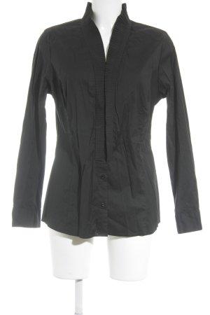 s.Oliver SELECTION Langarm-Bluse schwarz Elegant