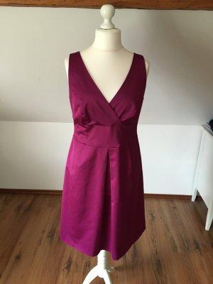 S Oliver Selection Magenta 42 44 lila pink abschlusskleid cocktailkleid Kleid