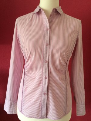 S.Oliver Selection rosa-weiß gestreifte Bluse