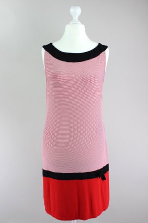 s.Oliver Selection Shirtkleid gestreift, ärmellos rot Größe 40 1708440510497