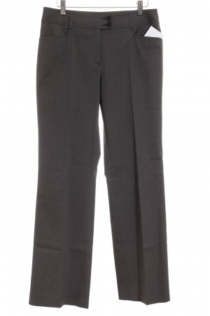 s.Oliver SELECTION Stoffhose anthrazit Zopfmuster Business-Look