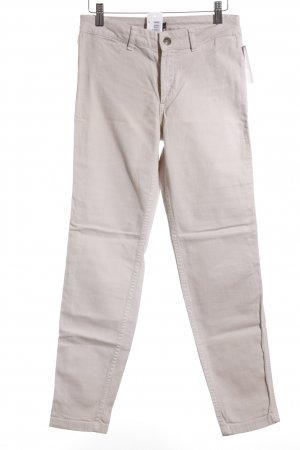 s.Oliver SELECTION Stretchhose hellbeige Casual-Look