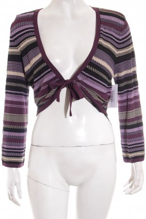s.Oliver SELECTION Strickbolero Streifenmuster Casual-Look