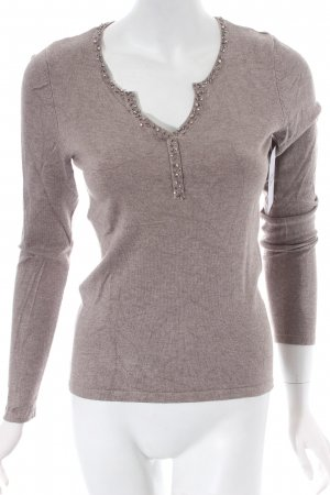 s.Oliver SELECTION Strickpullover hellbraun Casual-Look