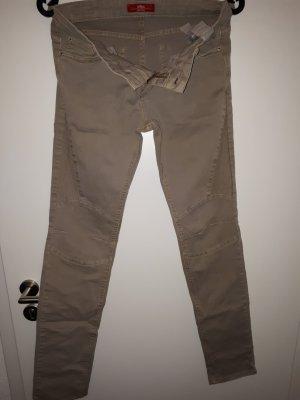 s.Oliver Pantalon cinq poches marron clair