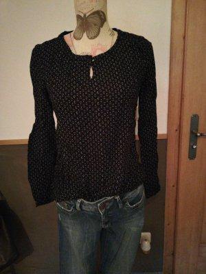 S. Oliver Shirt 36 schwarz mit Diamanten