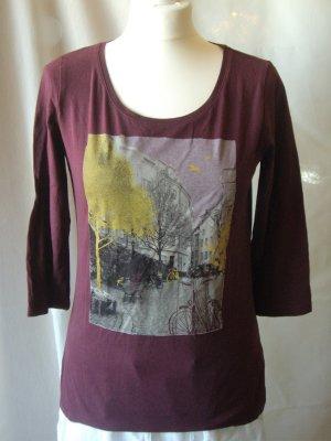 s. Oliver: Shirt ¾ Arm mit Print