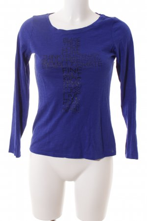 s.Oliver Shirt blau Casual-Look