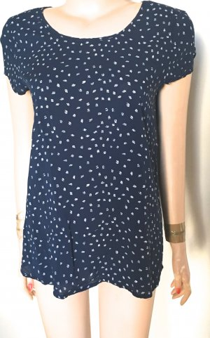 s Oliver Shirt blau/weiß Gr. 40