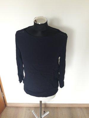 s. oliver shirt gr. 36 blau