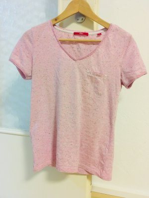 S. Oliver Shirt in XS, rosa