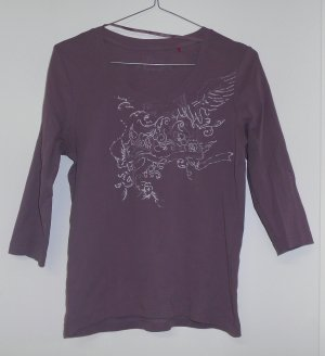 S.Oliver Shirt lila Gr. 40