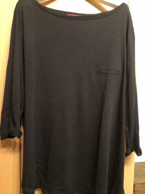 S. Oliver Shirt mit 3/4-Arm - schwarz - Gr. 44
