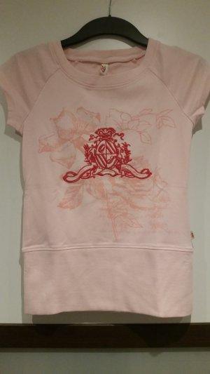 T-shirt vieux rose
