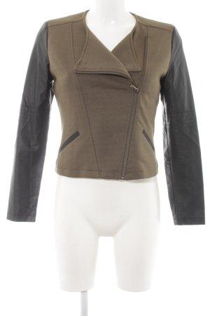 s.Oliver Shirt Jacket khaki-black casual look