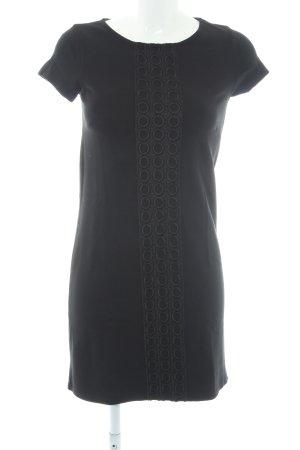 s.Oliver T-shirt jurk zwart casual uitstraling