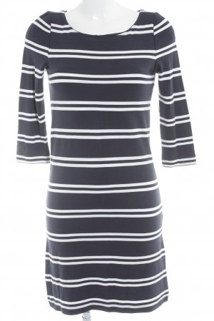 s.Oliver Shirt Dress white-dark blue striped pattern casual look