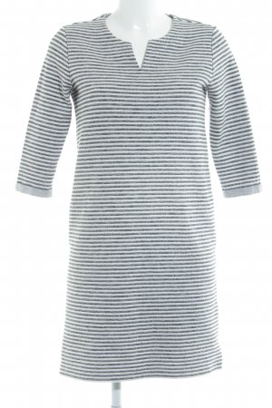 s.Oliver Shirt Dress white-light grey striped pattern casual look
