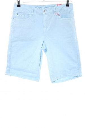 s.Oliver Shorts azul look casual