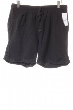 s.Oliver Shorts schwarz Casual-Look