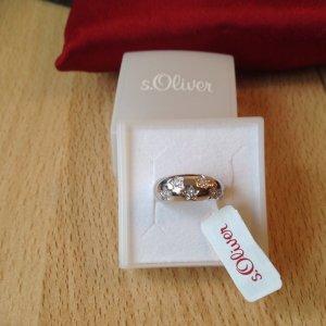 S.oliver Silber /Edelstahl Ring