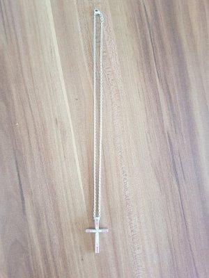 s. Oliver Silberhalskette mit Kreuz