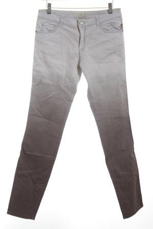 s.Oliver Skinny Jeans anthrazit-hellgrau Farbverlauf Casual-Look