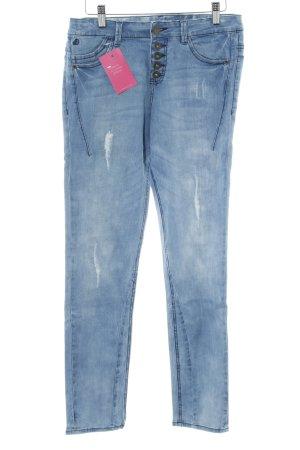 s.Oliver Skinny Jeans blassblau Casual-Look