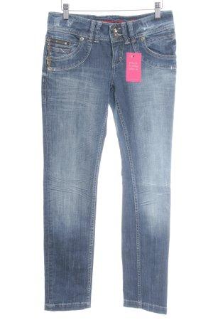 s.Oliver Skinny Jeans blau-himmelblau Jeans-Optik