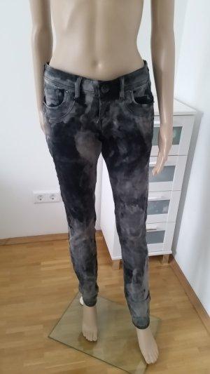 S.Oliver Skinny Jeans, camouflage, Größe 38