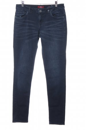 s.Oliver Skinny Jeans dunkelblau Casual-Look