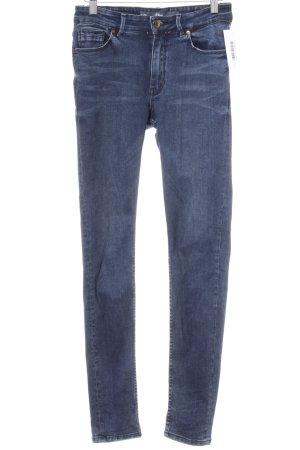 s.Oliver Skinny Jeans dunkelblau Jeans-Optik