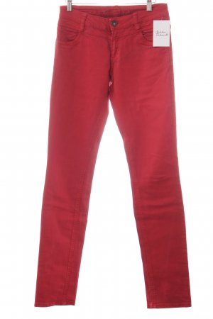 s.Oliver Skinny Jeans dunkelrot Casual-Look