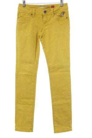 s.Oliver Skinny Jeans goldorange Casual-Look