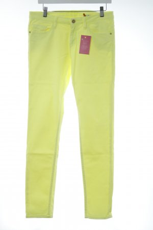 s.Oliver Skinny Jeans neongelb Casual-Look