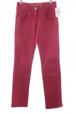 s.Oliver Skinny Jeans purpur Casual-Look