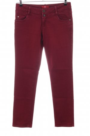 s.Oliver Slim Jeans rot Casual-Look