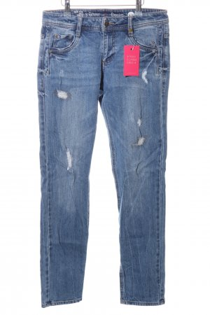 s.Oliver Slim jeans blauw casual uitstraling