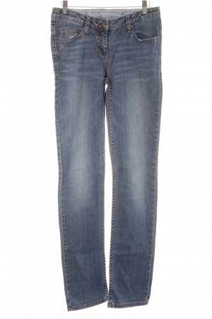 s.Oliver Slim Jeans blau-dunkelblau meliert Jeans-Optik