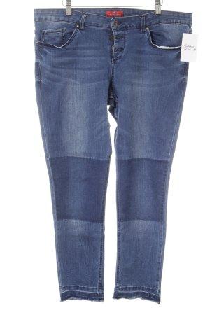 s.Oliver Slim Jeans blau-stahlblau Casual-Look