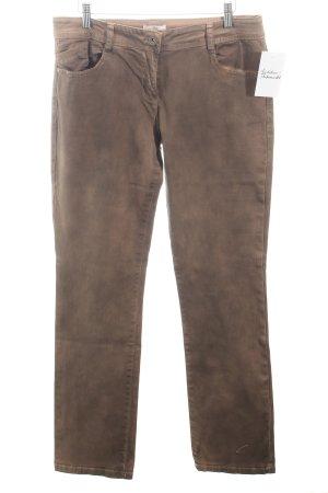 s.Oliver Slim Jeans bronzefarben Casual-Look