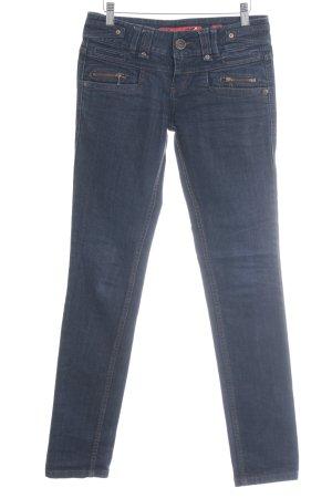 s.Oliver Slim Jeans dunkelblau Casual-Look