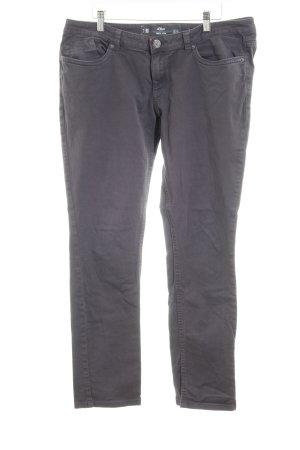 s.Oliver Slim Jeans dunkelgrau Casual-Look