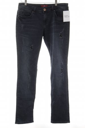 s.Oliver Slim Jeans graublau Casual-Look