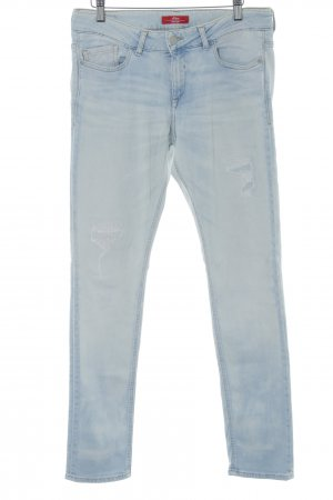 s.Oliver Slim Jeans himmelblau Casual-Look