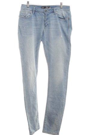 s.Oliver Slim Jeans kornblumenblau-himmelblau Jeans-Optik