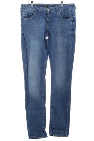 s.Oliver Slim Jeans kornblumenblau Jeans-Optik