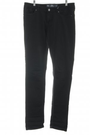 s.Oliver Slim jeans zwart casual uitstraling