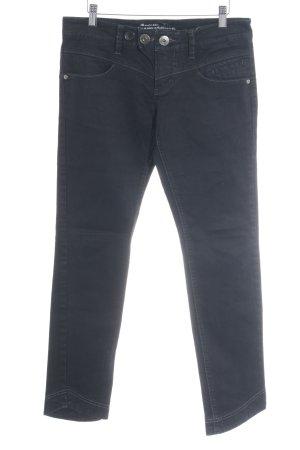 s.Oliver Slim Jeans schwarz-dunkelblau Casual-Look